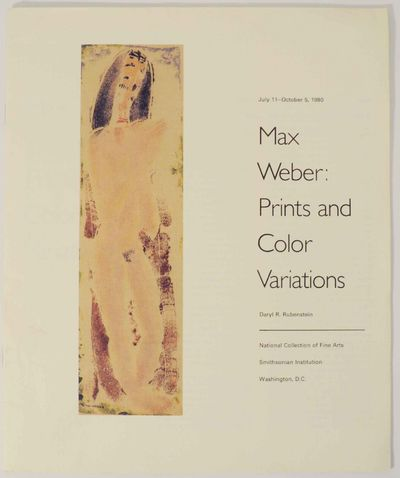 Washington, D.C.: National Collection of Fine Arts, Smithsonian Institution, 1980. First edition. So...