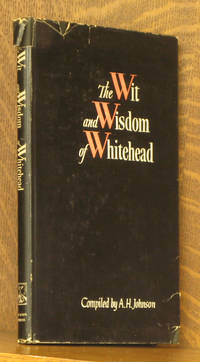 THE WIT AND WISDOM OF ALFRED NORTH WHITEHEAD
