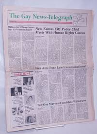 image of The Gay News-Telegraph: serving gay men_lesbians in the heart of America; December 1984: James Baldwin, Cloris Leachman, Jack Wrangler