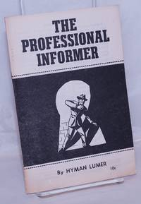 image of The professional informer