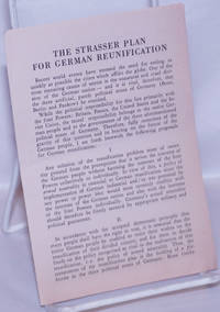 image of The Strasser Plan for German Reunification