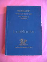 Consolidated Index The Bulletin Volumes 1-61 1930-93.
