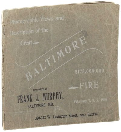 Baltimore, 1904. Paperback. Good. Paperback. Includes a one page essay, 12 full page photographic il...