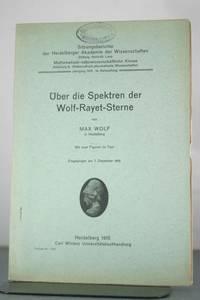 Uber die Spektren der Wolf-Rayet-Sterne