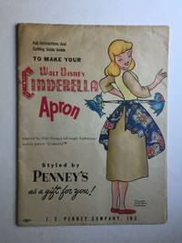 Full Instructions and Cutting Guide Inside to Make Your Walt Disney Cinderella Apron [