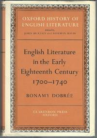 English Literature in the Early Eighteenth Century, 1700-1740