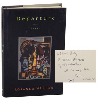 New York: W.W. Norton & Company, 2003. First edition. Hardcover. First printing. A collection of poe...