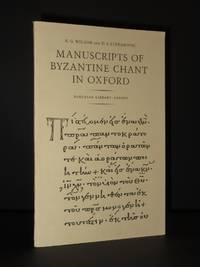 Manuscripts of Byzantine Chant in Oxford