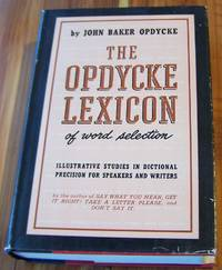 The Opdycke Lexicon of Word Selection
