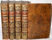 Les Oeuvres de Virgile traduites en françois, le texte vis-a-vis la traduction, avec des remarques, Par M. l'Abbé des Fontaines. (4 Tomes)