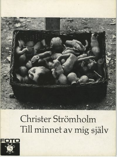 [Stockholm: Nordisk rotogravyr, 1965. First edition. Strömholm, Christer. Small 8vo., (8) pp., (3...