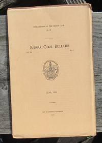 SIERRA CLUB BULLETIN June 1909 volume VII No 2