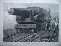 Firing the Eighty-One Ton at Shoeburyness, Essex.