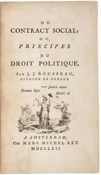 Du Contract Social; ou, Principes du Droit Politique