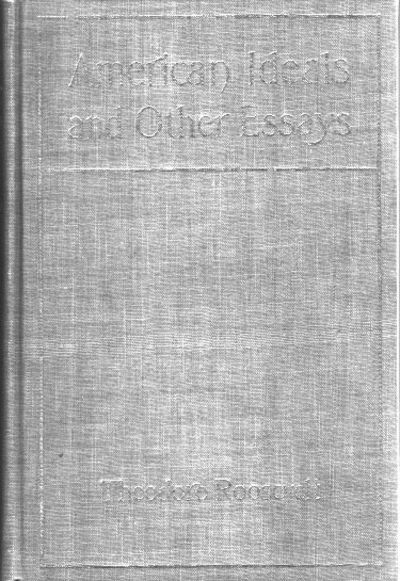 NY, G. P. Putnam's Sons, 1903, early printing. Gray cloth with gilt rules and with author, title, an...