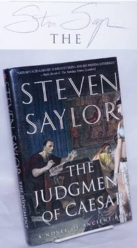 image of The Judgment of Caesar: a novel of Ancient Rome [signed]