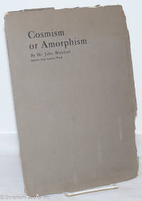 image of Cosmism or Amorphism. Reprint from Camera Work