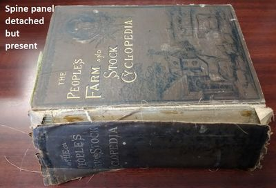 Boston: Martin Garrison & Co, 1884. Hardcover. Octavo; Fair- hardcover. Spine, brown with gold print...