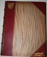 London: Simpkin, Marshall, Hamilton, Kent & Co., 1919. Second Edition. Half Decorated Morocco, Marbl...