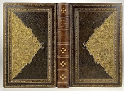 London: Macmillan and Co, 1881. Two volumes. A magnificently detailed and stunning binding by Johann...