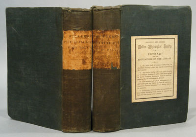 1839. MULLER, J., transl. with notes by William BALY. ELEMENTS OF PHYSIOLOGY, 2 VOLUMES. London: Tay...