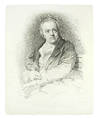 """View Image 2 of 2 for """"William Blake"""": frontispiece portrait ito The Grave. Inventory #123889"""