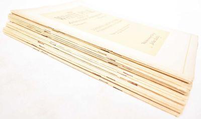 Saint Paul, MN: White Pine Bureau, 1920. Softcover. VG- (shelfwear to wraps, volume V, number 1 has ...