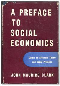image of Preface to Social Economics: Essays on economic theory and social problems