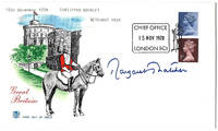 Margaret Thatcher Autograph on a Great Britain First Day Cover 1978