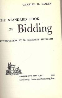 THE STANDARD BOOK OF BIDDING