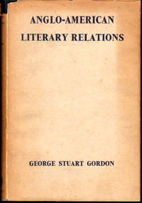 Anglo American Literary Relations