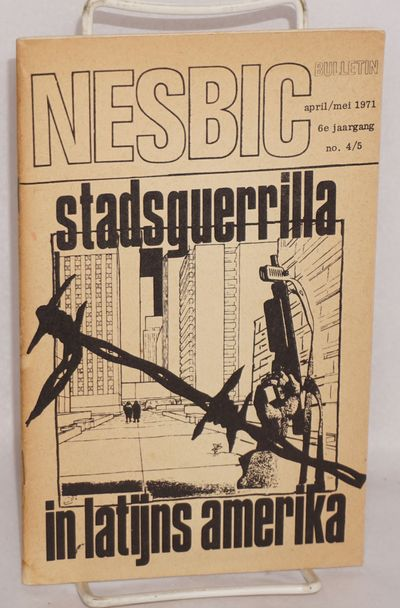 Amsterdam: Netherlands Students Bureau for International Co-operation (NESBIC), 1971. 144p., evenly ...
