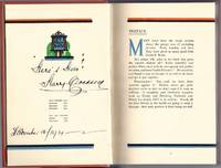 The Savoy Cocktail Book. Being in the main a complete compendium of the Cocktails, Rickeys, Daisies, Slings, Shrubs, Smashes, Fizzes, Juleps, Cobblers, Fixes, and other Drinks, known and vastly appreciated in this year of grace 1930, with sundry notes of amusement and interest concerning them, together with subtle Observations upon Wine and their special occasions. Being in the particular an elucidation of the Manners and Customs of people of quality in a period of some equality. [Signed] by  Harry (1875-1963) CRADDOCK - Hardcover - Early Reprint - 1933 - from Fine Editions Ltd and Biblio.com