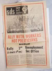image of SDS New Left Notes EXTRA; Fight Racism - Build the Worker-Student Alliance