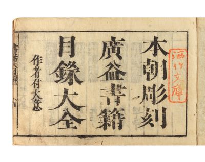 68; 68; 75; 80; 66 folding leaves. Five vols. Oblong 8vo, orig. wrappers (rather tired & rubbed), or...
