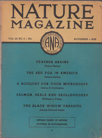 image of An Original Vintage Issue of Nature Magazine for November 1936