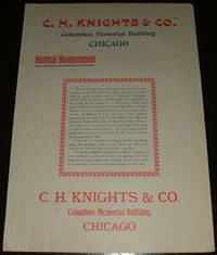 image of 1893 Illustrated Color Advertisement for C. H. Knight & Company of Chicago  ILL