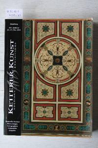 Auktion No.301, 22.-23. Mai 2006: Wertvolle Bücher, Manuskripte,  Autographen, Dekorative, Graphik.