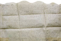 Manuscript indenture of demise from John Fetyplace, gentleman of Beselslight to Henry Towpott of Appleton