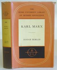 Karl Marx - His Life And Environment