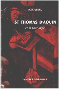 image of St thomas d'aquin et la théologie