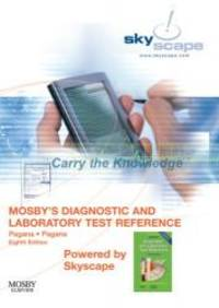 image of Mosby's Diagnostic and Laboratory Test Reference - CD-ROM PDA Software Powered by Skyscape, 8e (Mosby's Diagnostic & Laboratory Test Reference (Pagana))