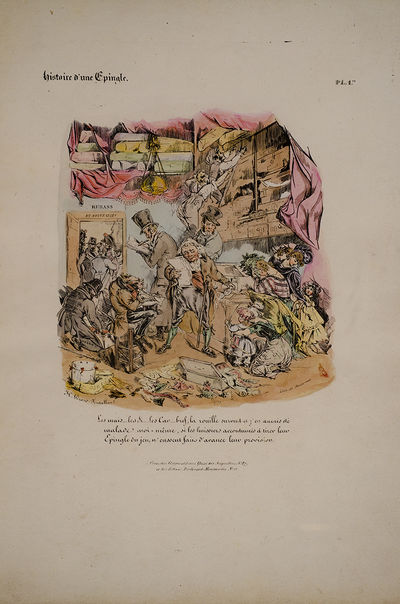 Paris: Chez Osterwald ainé, 1827. The History of a Pin