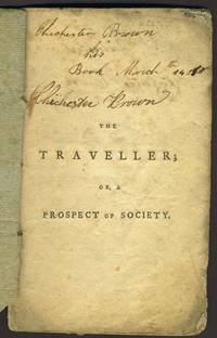 image of The Traveller; or a Prospect of Society a Poem