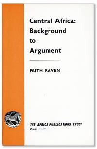 Central Africa: Background to Argument [cover title]