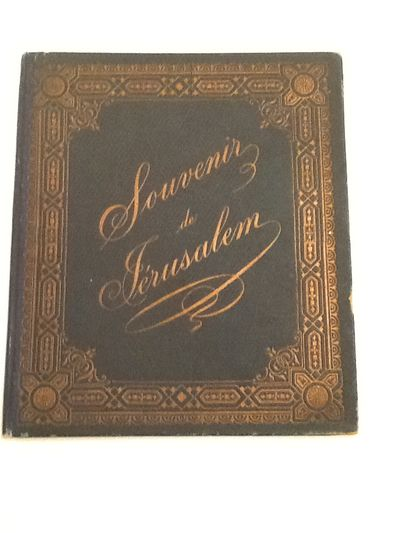 SOUVENIR DE JERUSALEM - View Book