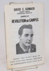 image of David E. Gumaer, Former Campus Undercover Operative, Speaking on Revolution on Campus