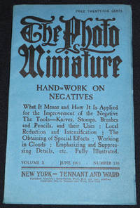 image of The Photo-Miniature: A Magazine of Photographic Information; Edited by John A. Tennant -- vol. 10, no. 116 -- June 1911