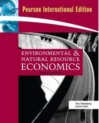 image of Environmental And Natural Resource Economics (International Edition)