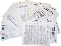 Archive of 121 broadsides, leaflets, and mailers, ca 1985-2004